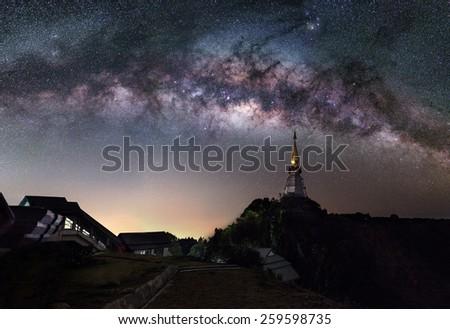 The Milky Way  - stock photo