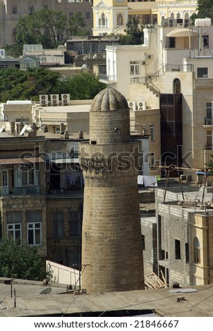 The minaret - stock photo