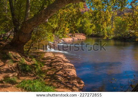 The Mind Expanding World of Sedona Arizona  - stock photo
