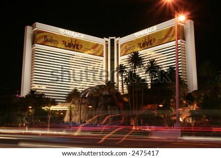 the Mirage in Las Vegas, NV - stock photo