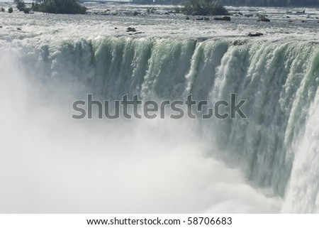 The Mist Of Niagara Falls