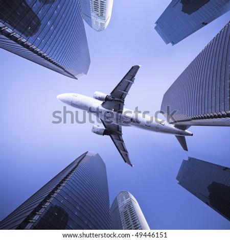 the modern building of the lujiazui financial centre in shanghai china. - stock photo