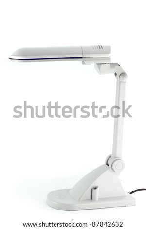 The modern design of the lamp to use in the house or office - stock photo