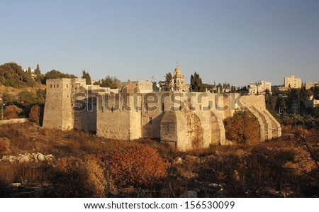 The Monastery of the Cross in the Valley of the Cross, Jerusalem - stock photo