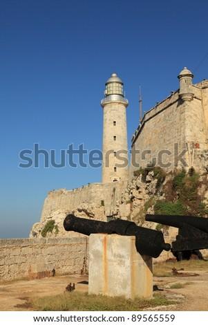 The Morro Castle, Havana, Cuba. - stock photo