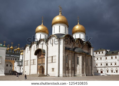 The Moscow Kremlin - stock photo