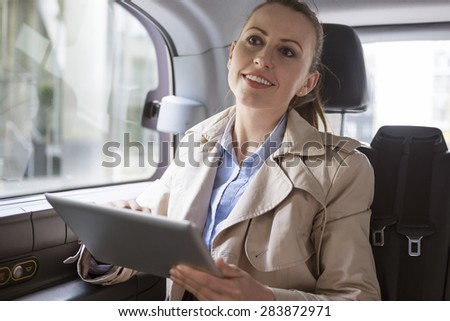 The most comfortable means of transportation for business people - stock photo