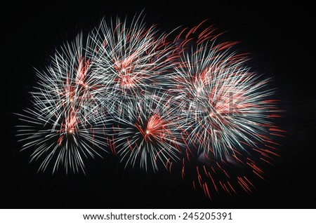 The most spectacular fireworks Beautiful
