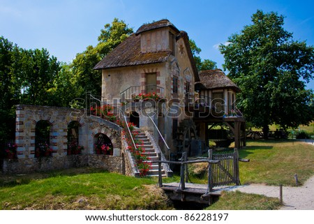 The Moulin, watermill cottage built for Marie Antoinette