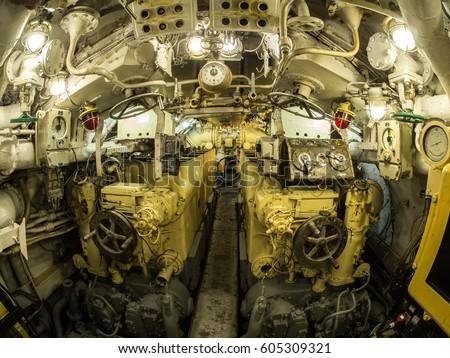 Elegant The Museum Of Submarine S 189. Interior. The Embankment Of Lieutenant  Schmidt,