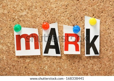 Name mark one books holy bible stock photo 168338441 shutterstock the name mark one of the books of the holy bible in cut out magazine spiritdancerdesigns Images