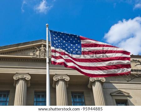 The National Archives Building, Washington, D.C., USA - stock photo