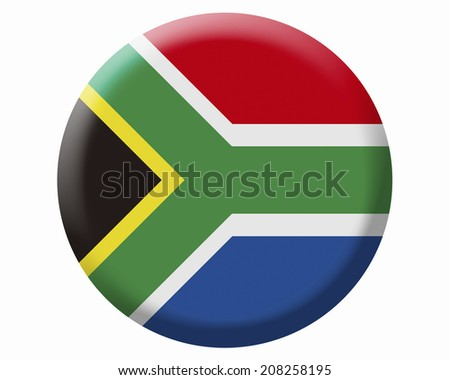 The National Flag Of South Africa
