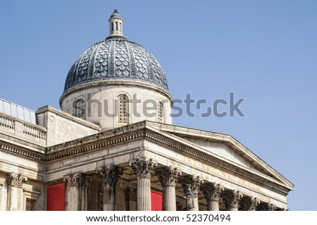 The National Gallery, London - stock photo