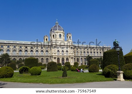 The Natural Historical Museum in Vienna