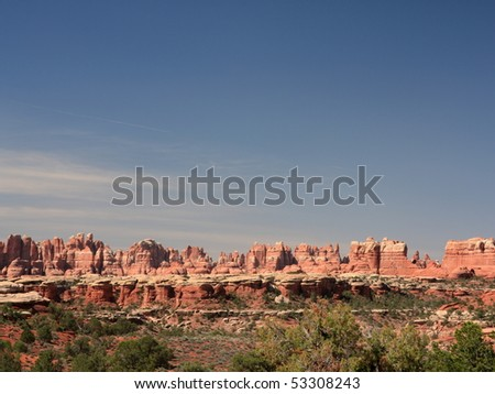 The Needles in Canyonlands National Park, Utah, USA