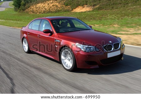 The New BMW M5 - stock photo
