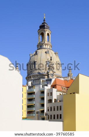 The new Dresden - stock photo