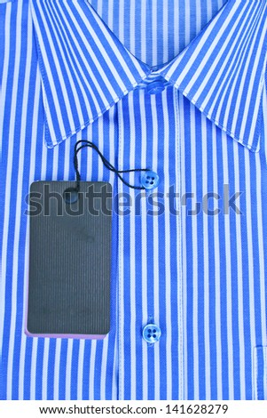 The new formal shirt - stock photo