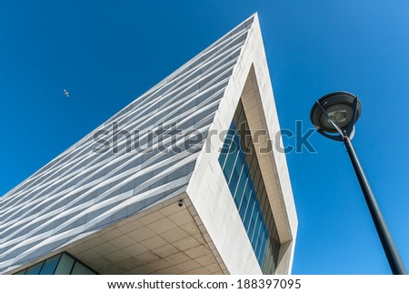 The new museum of Liverpool opened in 2012. - stock photo