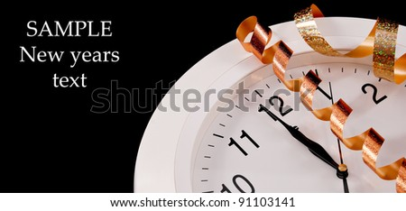 The New Year Count - stock photo