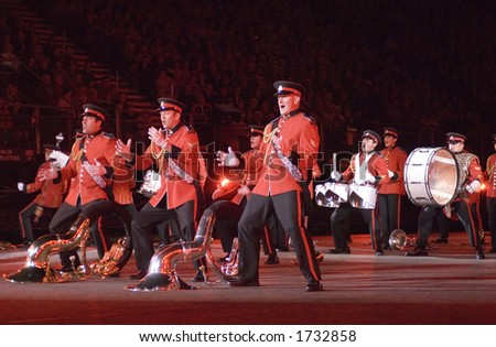 The New Zealand Army Band at the 2006 Edinburgh Military Tattoo