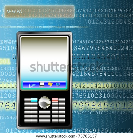 The newest telecommunication technologies - stock photo