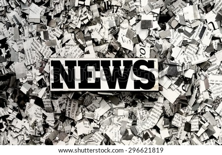 the News (Newspaper concept ) - stock photo