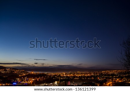 the night - stock photo