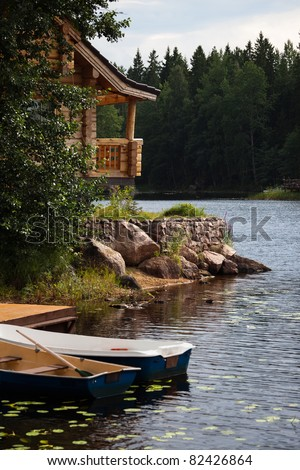 The nook of the leisure camp - stock photo