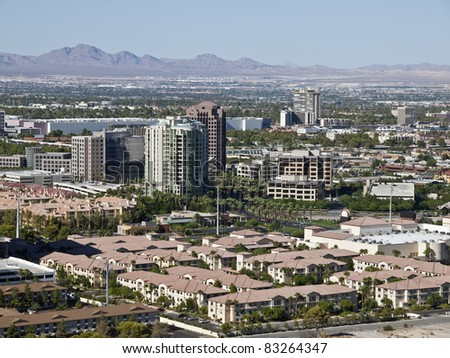 "The ""normal"" non casino, suburban side of the Las Vegas valley metro area."