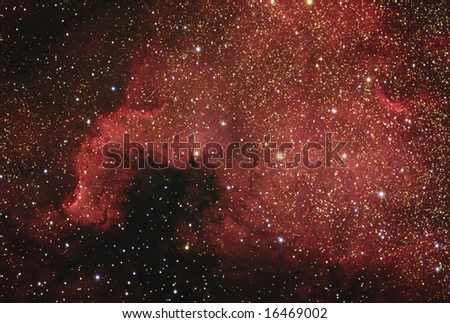 The North America Nebula - stock photo