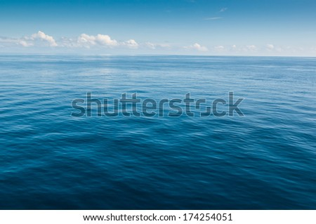 the ocean - stock photo