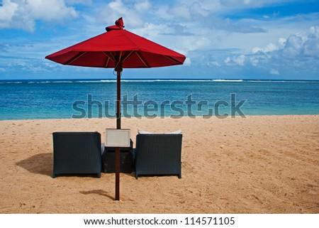 The Ocean View - stock photo