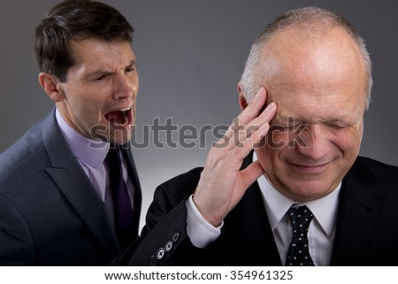 The Office Bully - stock photo