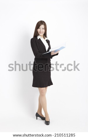 The Office Lady With A File