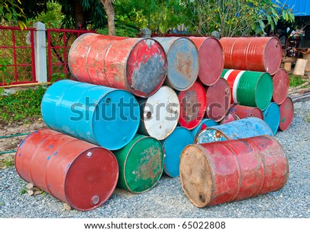 The Oil tank - stock photo