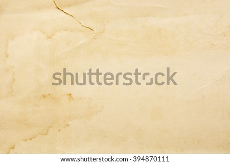 The old and stain paper texture - stock photo