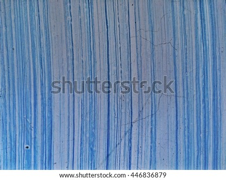 the old blue concrete with line