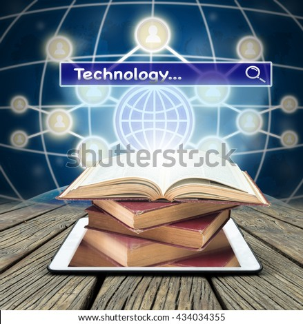 technology over textbooks One of the most important marvels of modern technology is the internet, which has not just revolutionized the process of information retrieval, but also, dramatically changed the way people seek information.