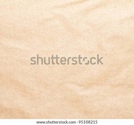 the old brown paper background texture - stock photo