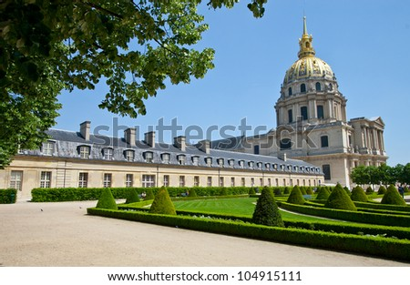 The old building. Europe - stock photo