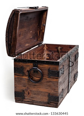 The old chest - stock photo