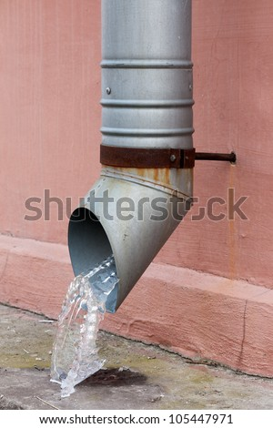 Drain Pipe Stock Photos Images Amp Pictures Shutterstock