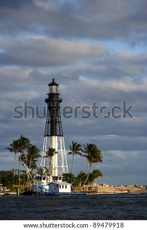 The Old Hillsboro Lighthouse in South Florida