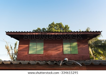 The old House - stock photo