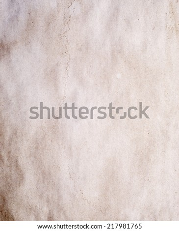 the old paper for background - stock photo