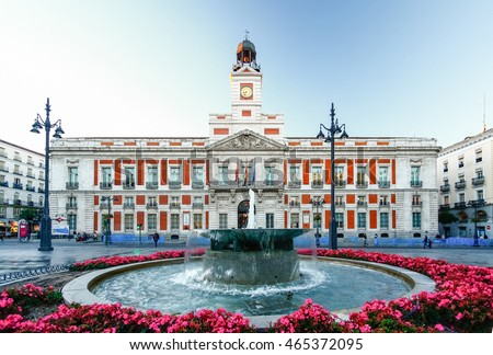 Image result for the house of the post office madrid