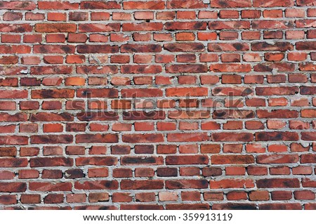 The old wall  - stock photo