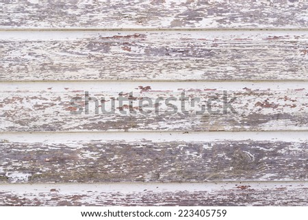 The old white wood texture with natural patterns